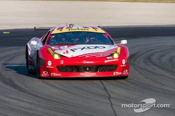 #69 AIM Autosport Team FXDD with Ferrari Ferrari 458: Emil Assentato, Anthony Lazzaro, Nick Longhi, Guy Cosmo, Mark Wilkins