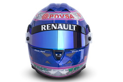 The helmet of Susie Wolff, Development Driver, Williams F1