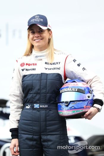 Susie Wolff, Williams F1 Development Driver