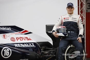 Valtteri Bottas, Williams with the new Williams FW35
