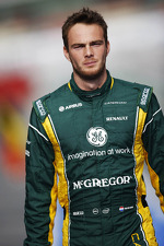 Giedo van der Garde, Caterham F1 Team