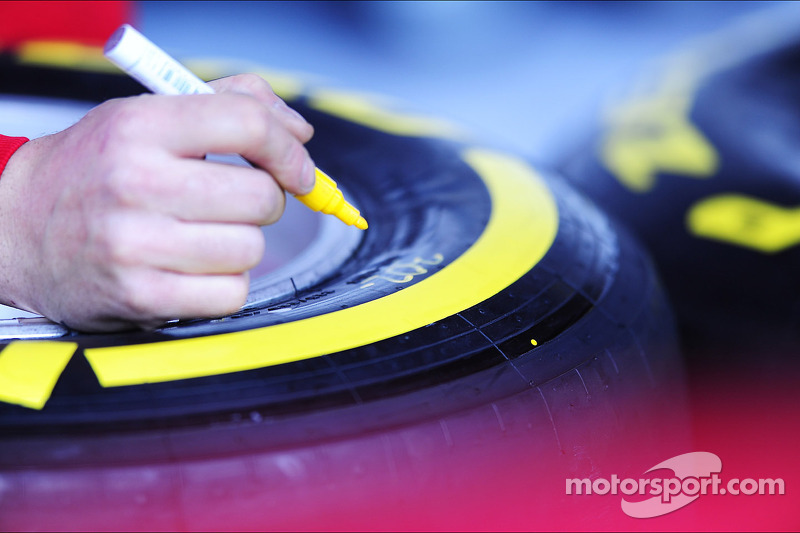 Pirelli tyre marking