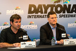 Post-race press conference: Joie Chitwood, Daytona International Speedway President, Steve O'Donnell, NASCAR's senior vice president for racing operations