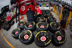 Goodyear tires for Juan Pablo Montoya, Earnhardt Ganassi Racing Chevrolet