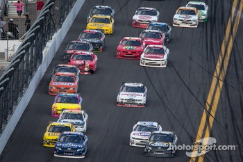 Elliott Sadler and Parker Kligerman lead the field