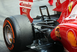 Felipe Massa, Ferrari F138 rear suspension