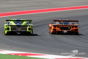 #76 Krohn Racing Ford Lola (left): Nic Jonsson, Tracy Krohn