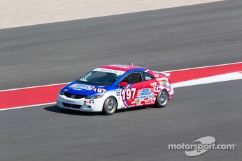 #197 RSR Motosports Honda Civic SI: Corey Fergus, Owen Trinkler
