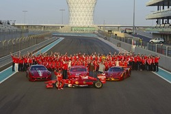 Ferrari group shot