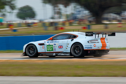 #007 Aston Martin Racing Aston Martin Vantage V8: Paul Dalla Lana, Billy Johnson, Pedro Lamy