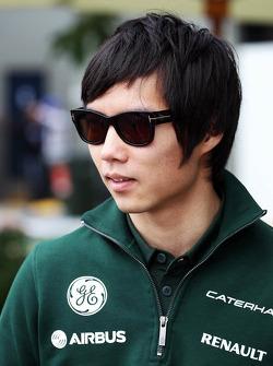 Ma Qing Hua, Caterham F1 Reserve Driver