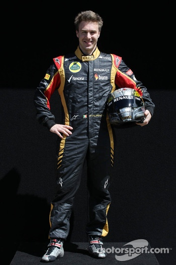 Davide Valsecchi, Lotus F1 Third Driver