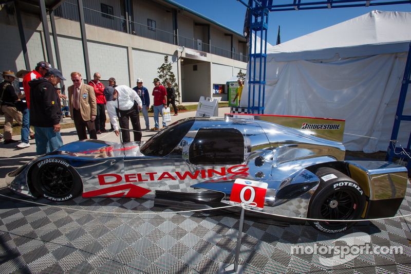 The new DeltaWing Racing Cars DeltaWing LM12 Elan Coupé