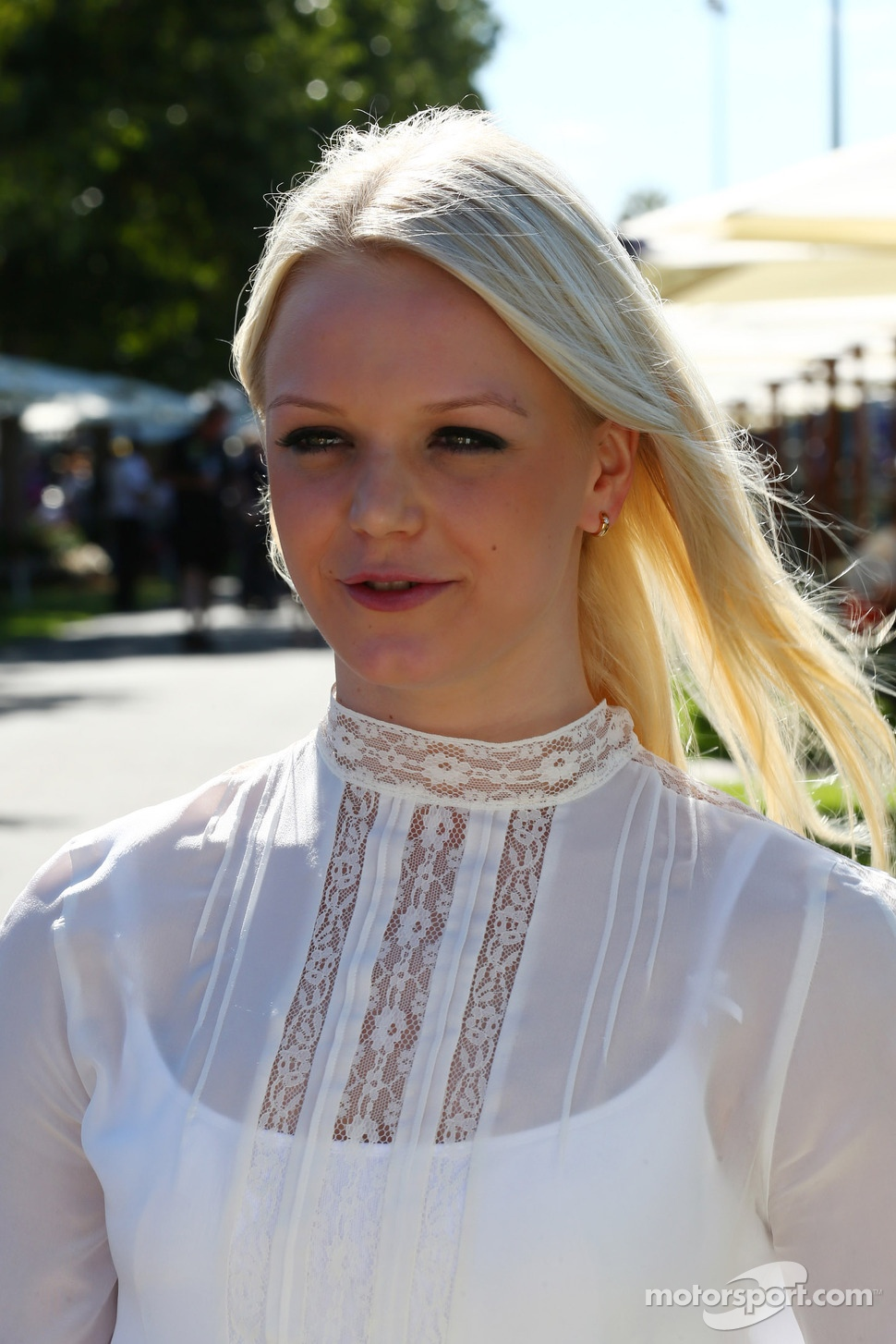 Emilia Pikkarainen, Swimmer, the girlfriend of Valtteri Bottas, Williams
