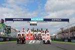 Drivers start of year group photograph