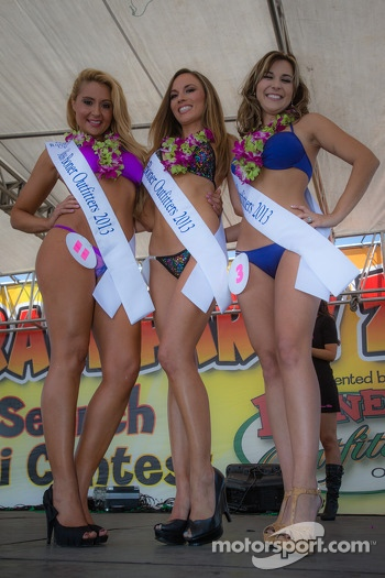 The winner of the Bikini contest and her runner-ups