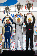PC podium: class winners David Cheng, Mike Guasch, David Ostella