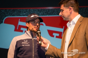 Drivers presentation: Alex Tagliani, Bryan Herta Autosport with Curb-Agajanian Honda