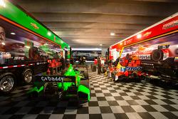 Andretti Autosport paddock area