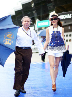 Jean Todt, FIA President with Michelle Yeoh