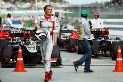 Max Chilton, Marussia F1 Team in parc ferme