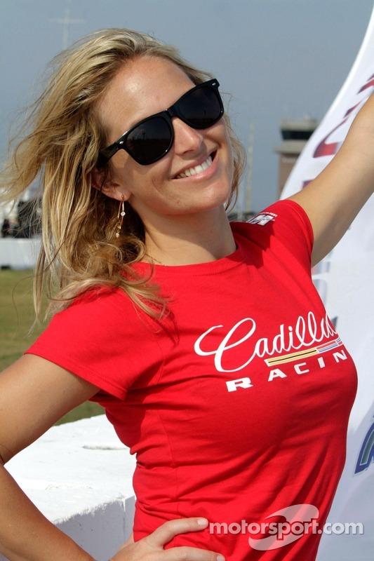 Cadillac Flag Girl