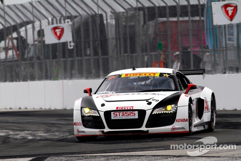 Jeff Courtney, JCR Motorsports/TruSpeed/Kenda/Audi R8