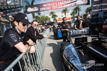 Jay Penske with Patrick Bourdais