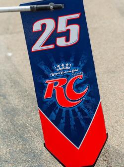Pit board for Marco Andretti, Andretti Autosport Chevrolet