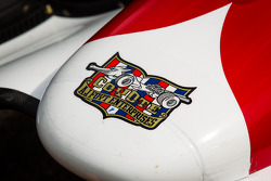 Nose cone detail on the car of Takuma Sato, A.J. Foyt Enterprises Honda