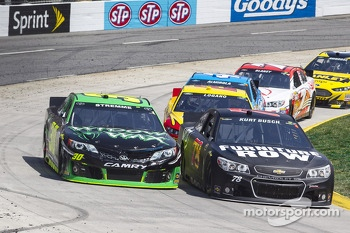 David Stremme and Kurt Busch