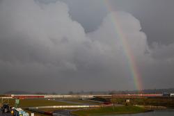 Rainbow at Silverstone