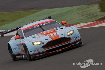 #95 Aston Martin Racing Aston Martin Vantage V8: Christoffer Nygaard, Kristien Poulson, Allan Simonson
