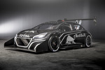 Teaser images of the Peugeot 208 T16 that Sbastien Loeb will drive in this year's Pike Peak Hill Climb