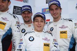 Martin Tomczyk, Claudia Hurtgen, Jens Klingmann, BMW Team Schubert, BMW Z4 GT3