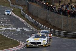 Thomas Jäger, Jan Seyffarth, Kenneth Heyer, Alexander Roloff, ROWE RACING, Mercedes-Benz SLS AMG GT3