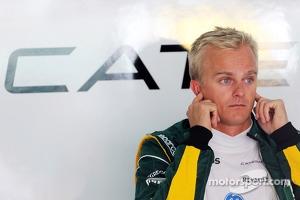 Heikki Kovalainen, Caterham F1 Team Reserve Driver