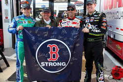 The Roush-Fenway team honors those killed in the Boston Marathon bombing