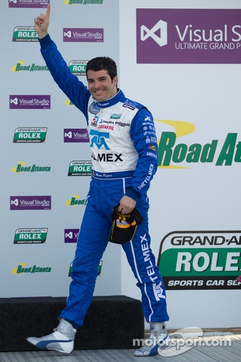 Race winner Memo Rojas