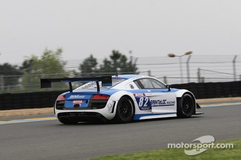 #82 Team Saintloc Racing BR Performance Audi R8 LMS Ultra: Jean-Marc Quintois, Mathieu Jaminet