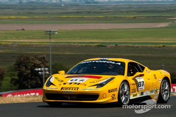 #87 Ferrario of San Diego 458CS: Rich Baek