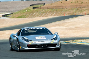 #777 Ferrari of Quebec 458TP: Emmanuel Anassis