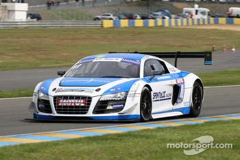 #82 Team Saintéloc Racing BR Performance Audi R8 LMS Ultra: Jean-Marc Quintois, Mathieu Jaminet