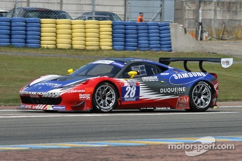 #28 Sport Garage Ferrari 458 Italia: Gilles Duqueine, Laurent Groppi