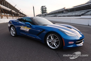 The 2013 Indy 500 Chevrolet Corvette pace car