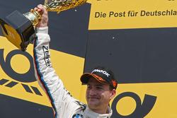 2nd, Dirk Werner, BMW Team Schnitzer BMW M3 DTM