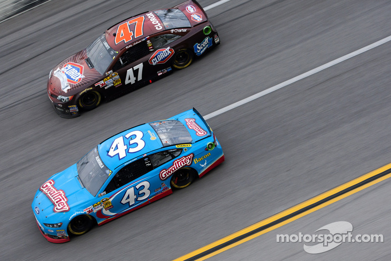 Aric Almirola and Bobby Labonte