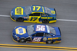 Martin Truex Jr. and Ricky Stenhouse Jr.