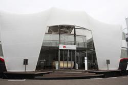 Sauber F1 Team motorhome