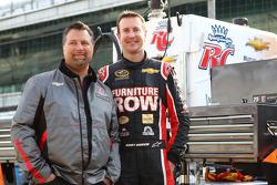 Kurt Busch and Michael Andretti